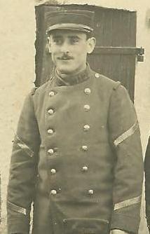 CARRIÈRE MILITAIRE AVANT LA GUERRE- 1908-1914 dans P2 - Paul ANDREANI Grade-sous-officier